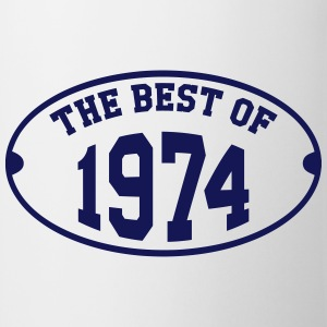 The Best of 1974 T-Shirts - Tasse