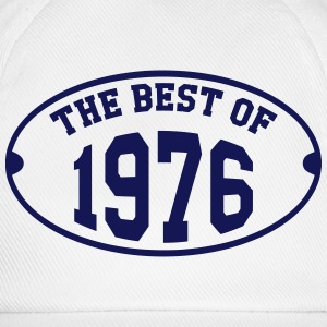 The Best of 1976 T-Shirts - Baseballkappe