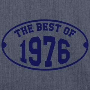The Best of 1976 T-Shirts - Shoulder Bag made from recycled material