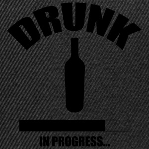 Drunk in progress... T-shirts - Snapbackkeps