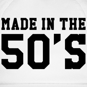 Made in the 50's Camisetas - Gorra béisbol