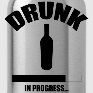 Drunk in progress... T-shirts - Vattenflaska