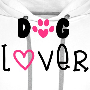 Dog Lover T-Shirts - Men's Premium Hoodie