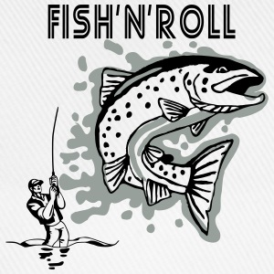 fish_n_roll T-Shirts - Baseballkappe