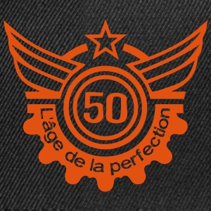 50 ans age perfection anniversaire Sweat-shirts - Casquette snapback