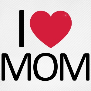 I love Mom - Baseballkappe