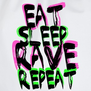 Rave Repeat T-Shirts - Turnbeutel