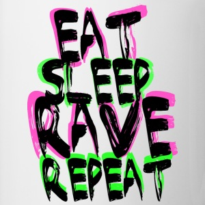 Rave Repeat T-Shirts - Tasse