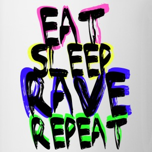 Rave Repeat Tee shirts - Tasse