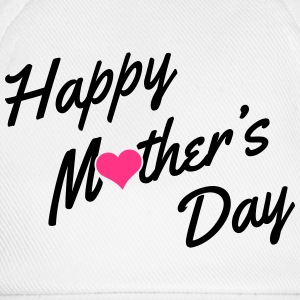 Happy Mother's Day T-Shirts - Baseballkappe