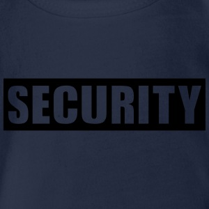 Security T-Shirts - Baby Bio-Kurzarm-Body