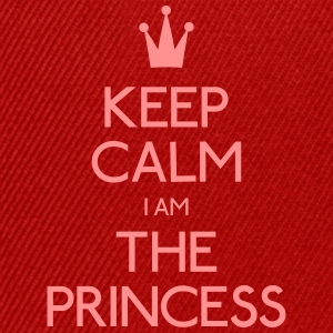 keep calm princess holde roen prinsesse T-shirts - Snapback Cap