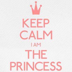 keep calm princess hålla lugn princess Flaskor & muggar - Basebollkeps
