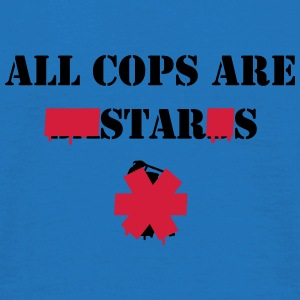 ALL COPS ARE STARS Tassen & rugzakken - Mannen T-shirt