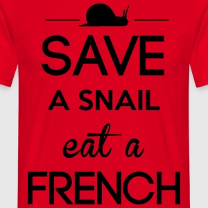 SAVE  A SNAIL Tabliers - T-shirt Homme