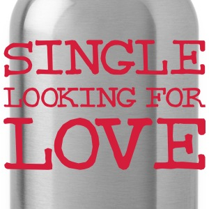 Single looking for love T-shirts - Vattenflaska