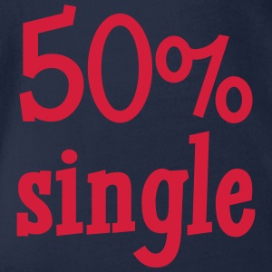 50% Single Skjorter - Økologisk kortermet baby-body
