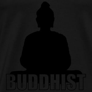 Buddhist Hoodies - Men's Premium T-Shirt