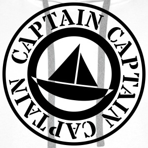 captain capitaine Tee shirts - Sweat-shirt à capuche Premium pour hommes