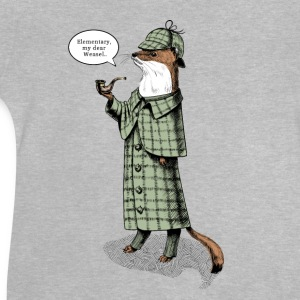 Stoat Detective - quote T-Shirts - Baby T-Shirt