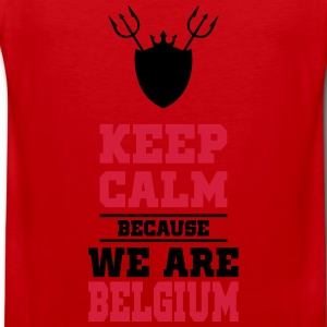 keep calm because we are Belgium Sweat-shirts - Débardeur Premium Homme
