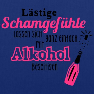 Alkohol - Spruch - Sekt - Prosecco - Party - 2C T-Shirts - Stoffbeutel