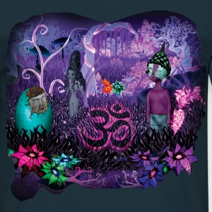 Aum Slim Fit M - T-shirt herr