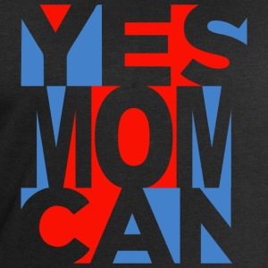 Yes Mom Can (dark) Camisetas - Sudadera hombre de Stanley & Stella