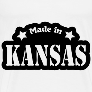 Made in Kansas Other - Men's Premium T-Shirt