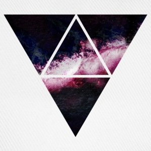 triangle galaxy T-Shirts - Baseball Cap