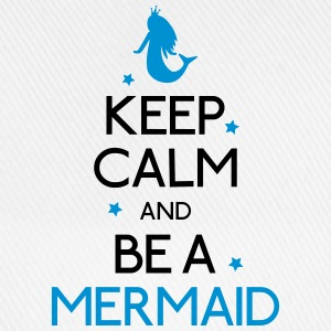 keep calm mermaid Shirts - Baseball Cap