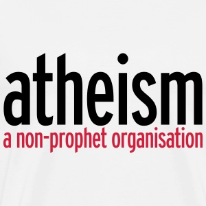 Atheism Hoodies & Sweatshirts - Men's Premium T-Shirt