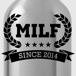 MILF since 2014 T-shirts - Drinkfles