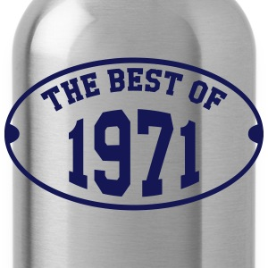 The Best of 1971 T-Shirts - Trinkflasche
