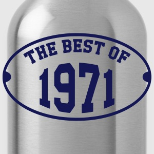 The Best of 1971 T-Shirts - Water Bottle