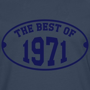 The Best of 1971 T-shirts - Mannen Premium shirt met lange mouwen