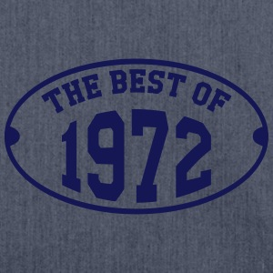 The Best of 1972 T-Shirts - Shoulder Bag made from recycled material