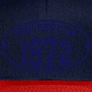 The Best of 1972 T-Shirts - Snapback Cap