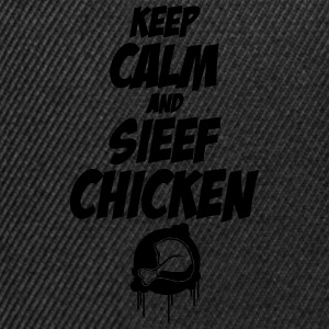 Keep Calm and Sieef Chicken 2 Pullover & Hoodies - Snapback Cap