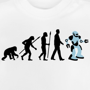 evolution_roboter_032014_a_2c T-Shirts - Baby T-Shirt
