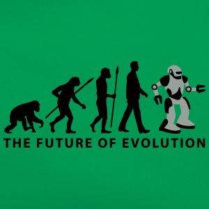 evolution_roboter_032014_b_2c T-Shirts - Retro Tasche