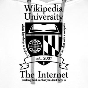 Wikipedia University - Men's Premium Hoodie