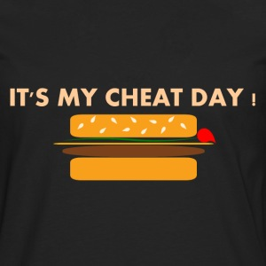 Cheat Day Burger Tee shirts - T-shirt manches longues Premium Homme