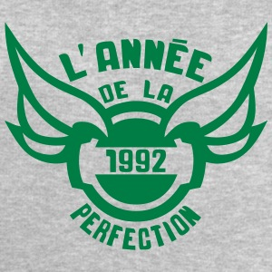 1992 annee anniversaire perfection logo Tee shirts manches longues - Sweat-shirt Homme Stanley & Stella