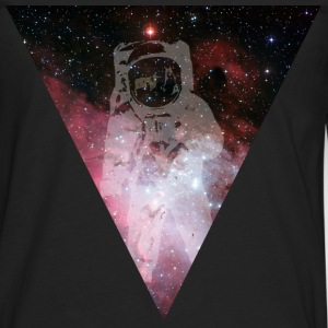 Astronaut - outer space T-shirts - Herre premium T-shirt med lange ærmer