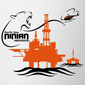 Ninian Oil Rig Platform North Sea Aberdeen - Mug
