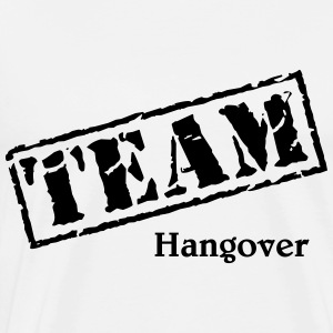 Team Hangover Long sleeve shirts - Men's Premium T-Shirt