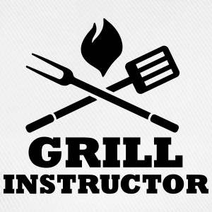 Grill Instructor T-Shirts - Baseballkappe