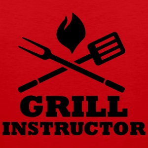 Grill Instructor T-Shirts - Männer Premium Tank Top
