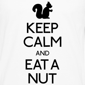 keep calm squirrel  Shirts - Men's Premium Longsleeve Shirt